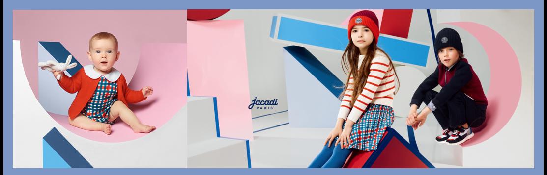 パリ発子ども服ブランド、ジャカディが名古屋と博多に期間限定ショップオープン