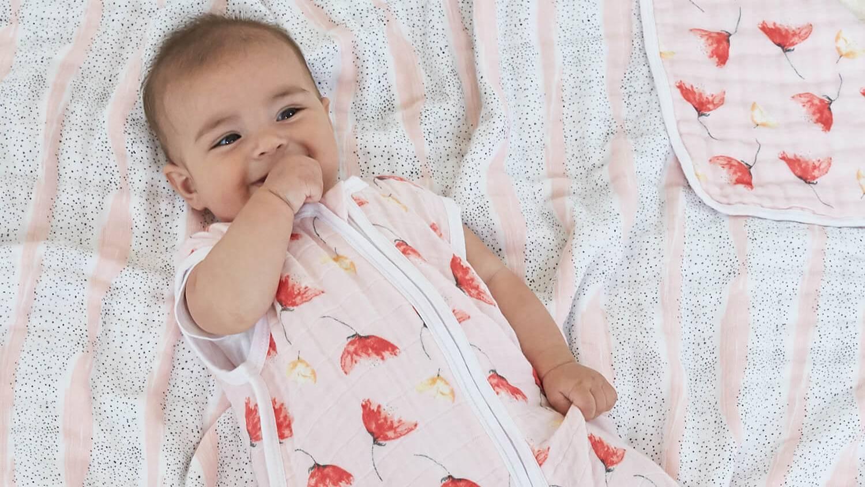 赤ちゃんのねんねを快適に。エイデンアンドアネイのスリーピングバッグ