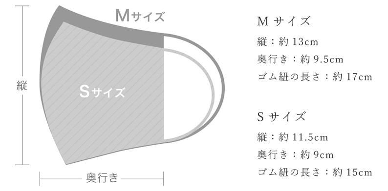 SOU・SOUのマスク サイズ