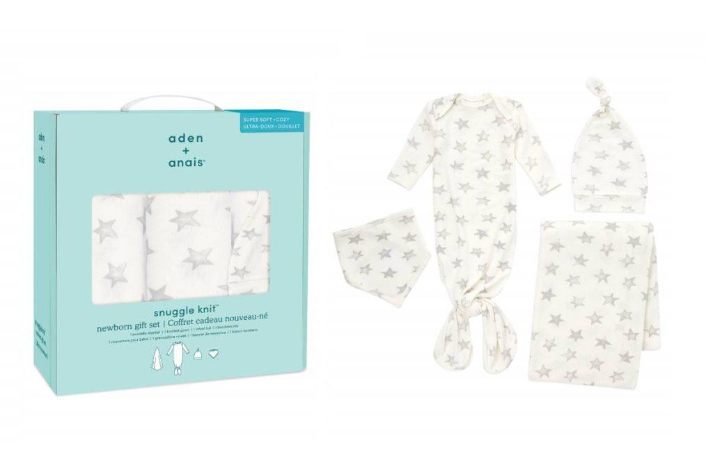 エイデンアンドアネイ snuggle knit newborn gift set 0-3m