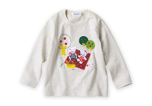 【受注】ロングTシャツ(女児) 9,900~11,000円(税込) サイズ:80~120cm