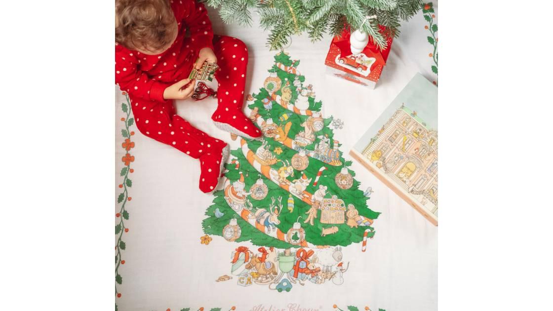 アトリエシュウからクリスマス限定のスタイ&おくるみが登場
