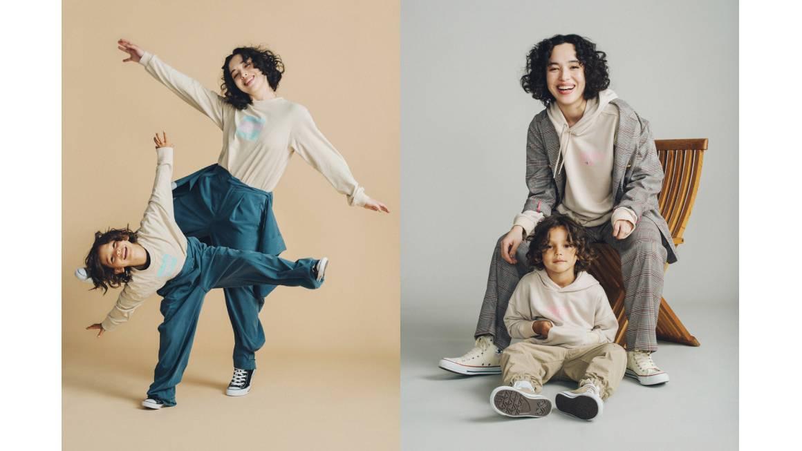 ブルーハムハム 伊勢丹新宿店 ポップアップストア 親子コーデ