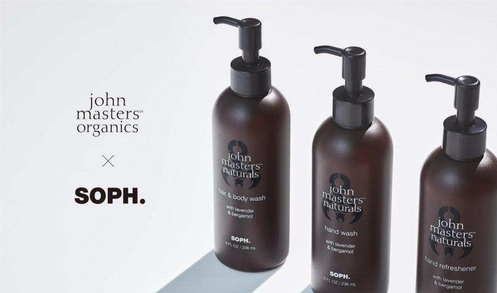 ジョンマスターオーガニックとSOPH.がコラボ。全身に使えるヘア&ボディウォッシュ初登場