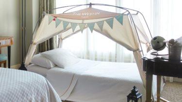 家族でキャンプ気分。ウエスティンホテル東京のステイケーションプランがスタート