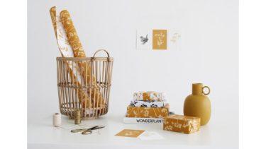 大切な贈り物にスペシャルないろどりを。オランダのギフトラッピング専門店「OMPAK」の包装紙、日本初登場