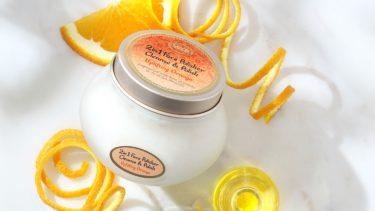 サボンの人気フェイスポリッシャー、オレンジの香りが限定発売。ポジティブ気分で毛穴レスなツヤ肌へ